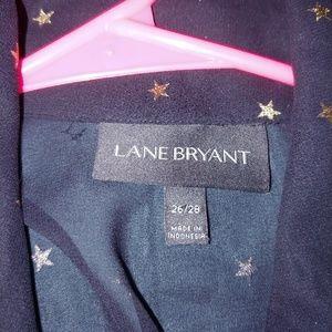 Lane Bryant Tops - Lane Bryant sheer tunic button up